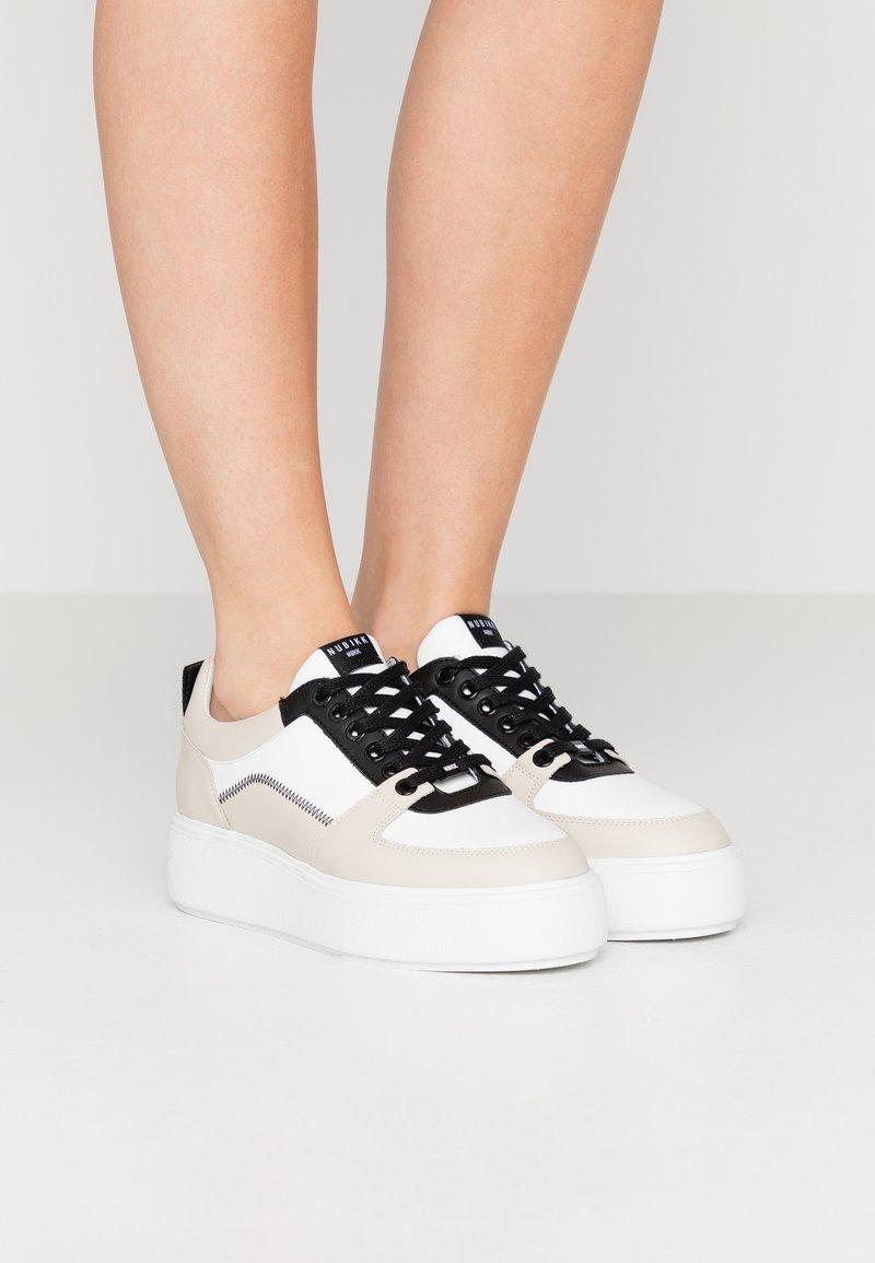 Nubikk - ELISE BLUSH - Sneakers basse - white/multicolor