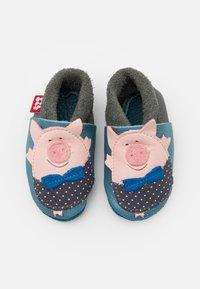 POLOLO - SCHWEINCHEN UNISEX - First shoes - blau - 3