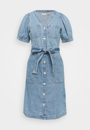 BRYN DRESS - Jeanskjole / cowboykjoler - light blue denim