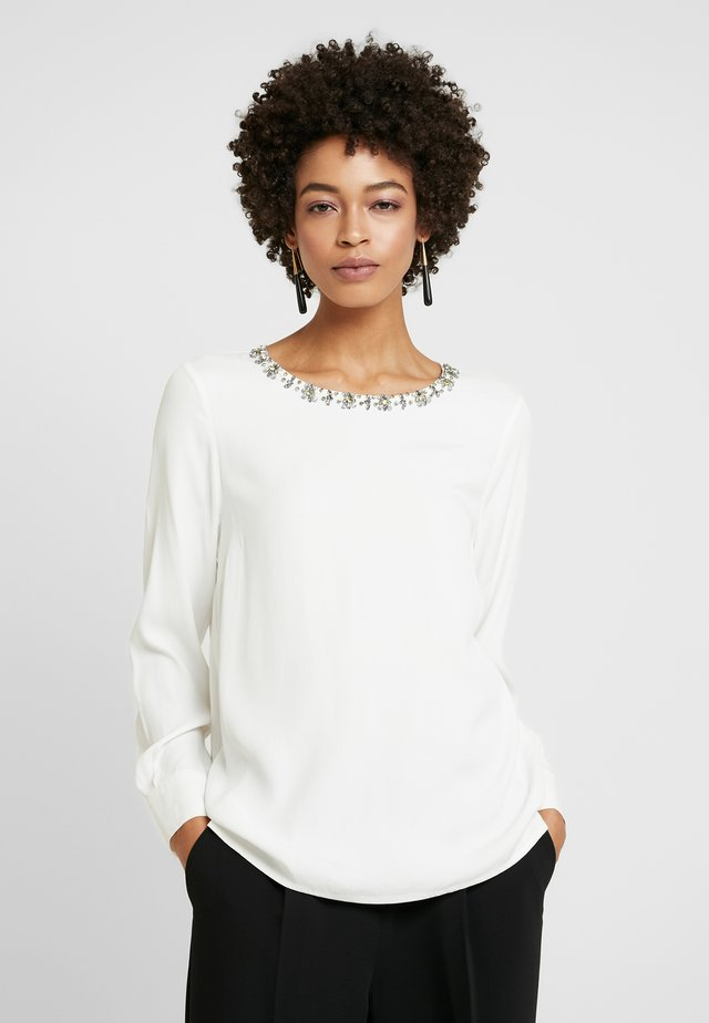 BLOUSE SLEEVE - Blusa - off white