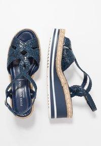 Pons Quintana - Platform sandals - azulon - 3