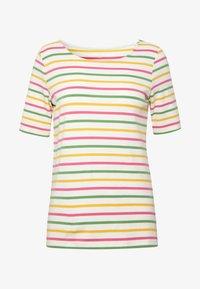 BASIC  - Print T-shirt - offwhite/multi-coloured/white
