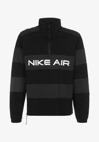 Nike Sportswear - AIR IDLAYER - Windbreaker - black/dk smoke grey/white - 0