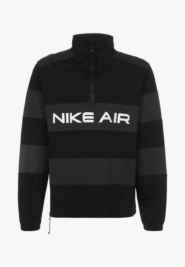 AIR IDLAYER - Windbreaker - black/dk smoke grey/white