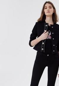 LIU JO - Summer jacket - black with appliqués - 3