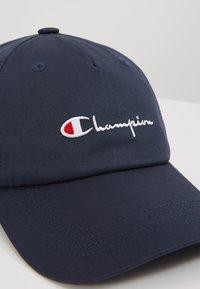 Champion Reverse Weave - BASEBALL - Czapka z daszkiem - dark blue - 6