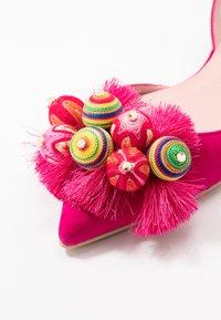 Pretty Ballerinas - Slingback ballet pumps - fuxia/coco - 2
