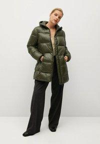 Violeta by Mango - Winter coat - kaki - 1