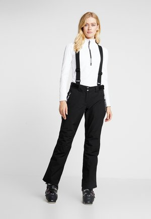 EFFUSED PANT - Talvihousut - black
