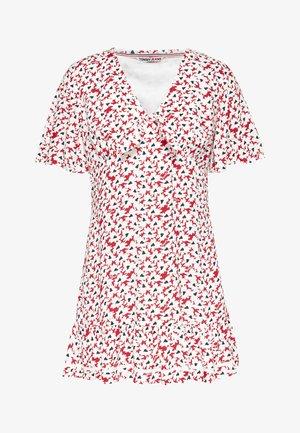 Vestito estivo - camo floral print