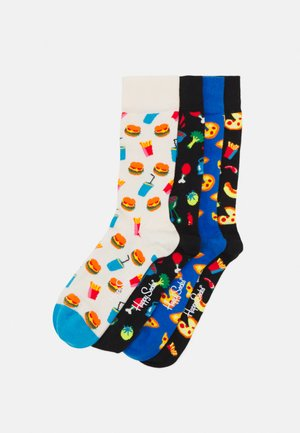 FOOD LOVER SOCKS GIFT SET UNISEX 4 PACK - Strumpor - multi