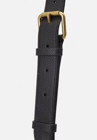 Coach - POLISHED PEBBLE WILLOW SHOULDER BAG - Handbag - black - 4