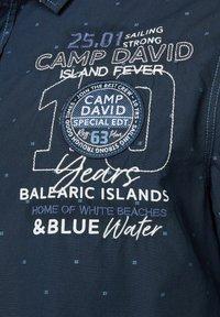 Camp David - FIL À FIL JACQUARD HEMD - Shirt - blue navy - 7
