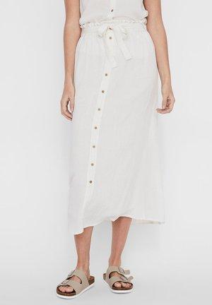 VMNAOMI - A-line skirt - snow white