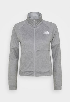 ACTIVE TRAIL FULL ZIP JACKET - Fleece jacket - light grey heather