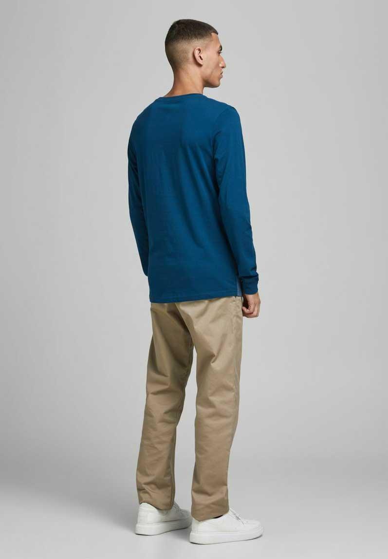Nudie Jeans LIN - Jeans Skinny Fit - black yard/mörkblå denim - Herrkläder QyMDt