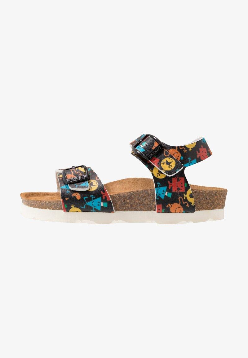 Walnut - Sandals - black
