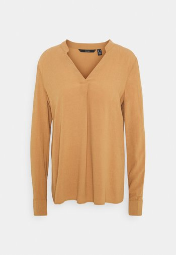 VMESTHER - Blouse - tobacco brown