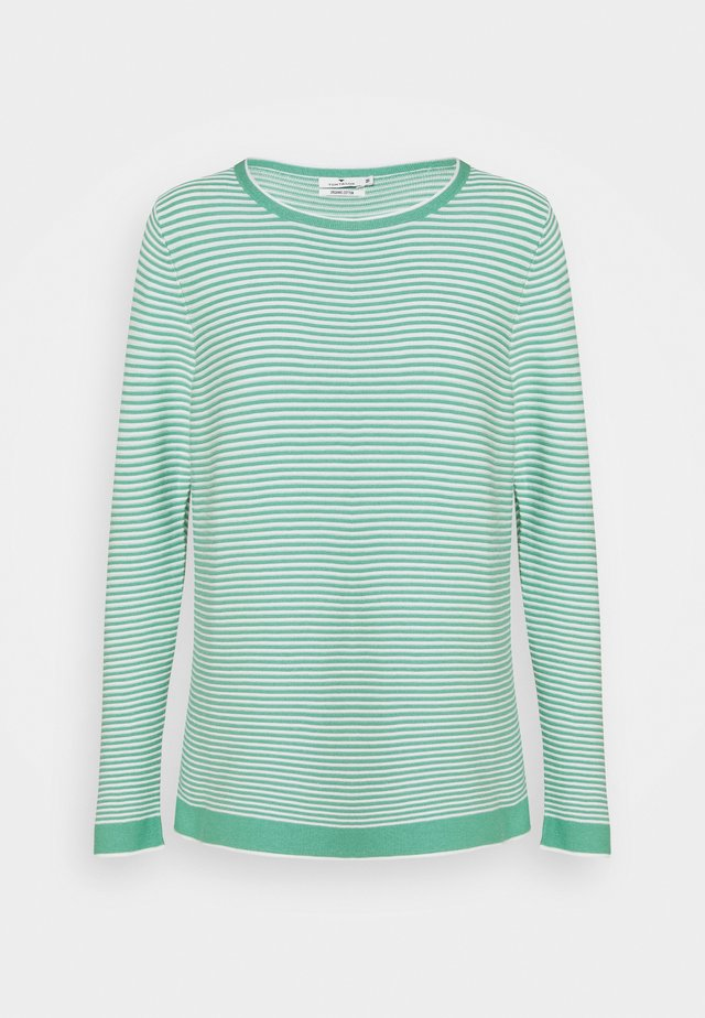 SWEATER NEW OTTOMAN - Jumper - green/white