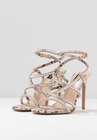 River Island Wide Fit - Sandali con tacco - pink light - 4