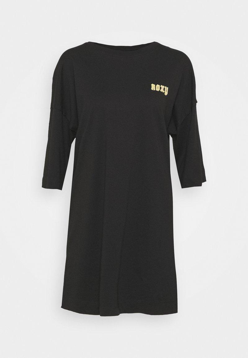 Roxy - MACRAME HOUR - Vestito di maglina - anthracite