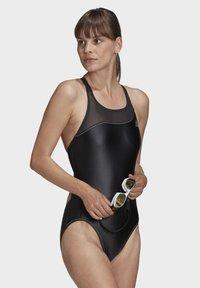 adidas Performance - GLAM-ON SHINY SWIMSUIT - Swimsuit - black - 3
