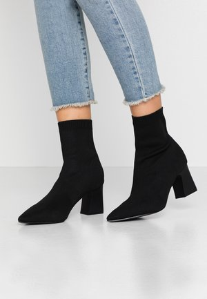 Wide Fit SHAWN - Classic ankle boots - black