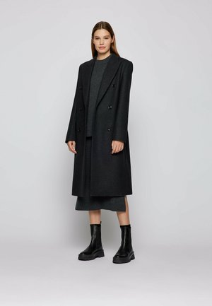 Classic coat - open grey