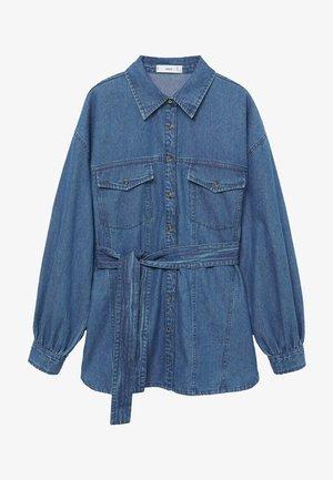 GAIA - Button-down blouse - blue