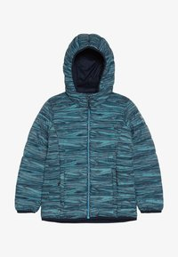 CMP - GIRL JACKET ZIP HOOD - Winter jacket - blue/curacao/gesso - 3