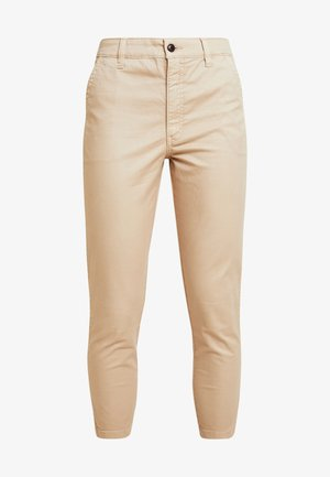 HIGH RISE PANT - Chinos - brown