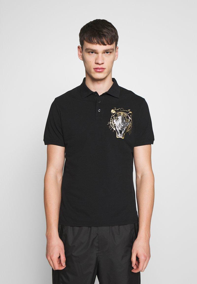 Just Cavalli - TIGER - Polo - black