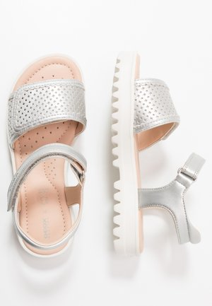SANDAL CORALIE GIR - Sandals - silver