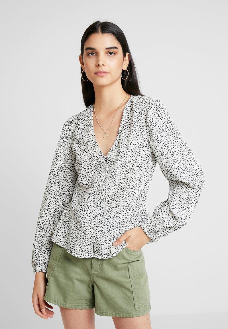 New Look - SONIC LULU DITSY PEPLUM - Bluser - white