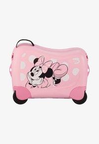 Samsonite - ZUM DRAUFSITZEN - Wheeled suitcase - pink - 0