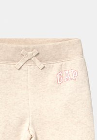 GAP - TODDLER GIRL LOGO - Trousers - mottled beige - 2