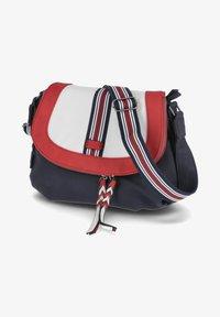 Rieker - Across body bag - blau-kombi - 0