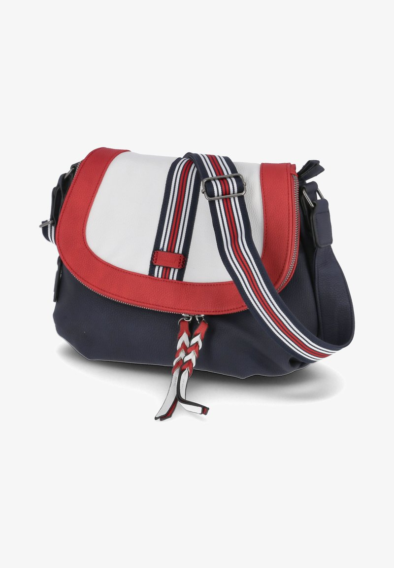 Rieker - Across body bag - blau-kombi