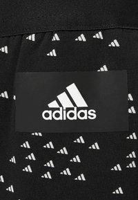 adidas Performance - WIN PANT - Tracksuit bottoms - black/white - 2