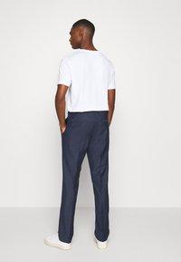Calvin Klein Tailored - SPECKLED SUIT - Suit - blue - 5