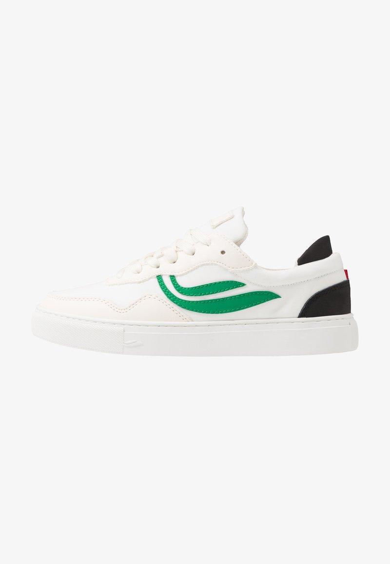 Genesis - SOLEY UNISEX - Sneakersy niskie - white/green/black