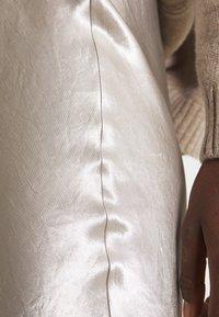 Max Mara Leisure - ALESSIO - A-line skirt - platino - 4