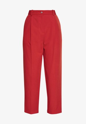 NEW TROUSERS - Stoffhose - red