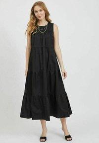 Vila - Maxi dress - black - 1