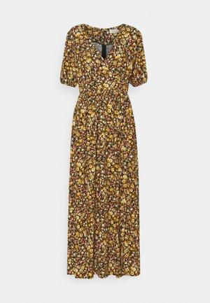 PANTELLERIA - Robe longue - bouquet black
