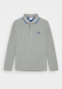 BOSS Kidswear - LONG SLEEVE - Polo shirt - grey marl - 0