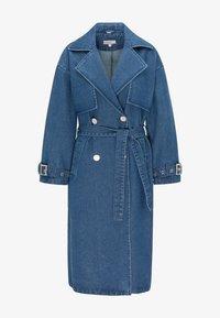 myMo - Trenchcoat - blau denim - 4