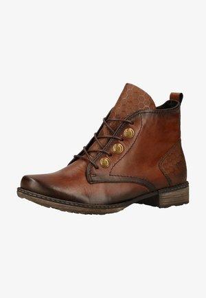 Boots à talons - chestnut/chestnut / 22