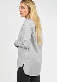 Desires - DRINA - Button-down blouse - mid grey - 2