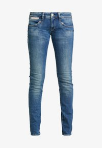 Herrlicher - PIPER SLIM STRETCH - Džíny Slim Fit - blue denim - 4